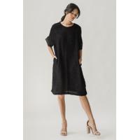 Arkamaya Dress Black