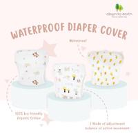 Waterproof Diaper Cover Mom's Nature / Popok Kain Bayi Anti Air - Farm Animal (M)