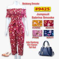 sabrina jumpsuit panjang flower #9425