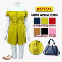 sabrina jumpsuit pendek #9191