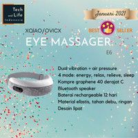 OVICX Smart Eye Massager E6 Alat Pijat Mata Elektrik