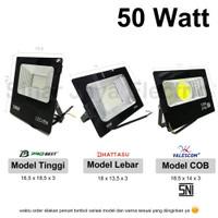 lampu led sorot / tembak / floodlight / outdoor 50w reflector MINI
