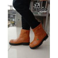 PROMO Sepatu Boots Safety Asli Kulit King ARBOO - 39