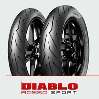 Ban Pirelli Diablo Rosso Sport 120/70 Ring 17 R