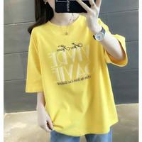 Kaos Wanita Oversize SAVIE / Tshirt Atasan Remaja Cewek Bigsize Jumbo