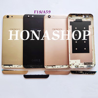 Backdoor Backcover Tutup Baterai Oppo F1S Gold/Rose Gold Ori