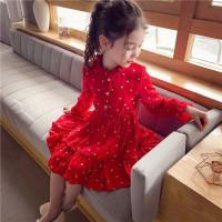 DRESS IMPORT ANAK CEWEK SHINY LOVE BAJU GAUN PESTA ANAK BALITA 1-7TH