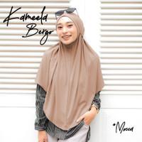 Kerudung Bergo Tali Instan Terbaru Hijab Jilbab Kameela Jersey Murah
