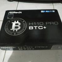 Motherboard Intel ASRock H110 Pro BTC+ - LGA 1151 DDR4 13x VGA MINING