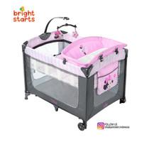 Bright Starts Dis Playard Minnie Mouse Blushing Bows Tempat Tidur Bayi