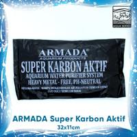 SUPER KARBON AKTIF CARBON ACTIVE AQUARIUM ARMADA | PH-NEUTRAL