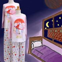 Baju Tidur Anak Perempuan GS (BT 21) St. Lgn Pjg Cln Pjg