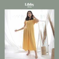 Libby Dress Panjang Baju Ibu Hamil Menyusui Motif Polkadot - DRO 1005