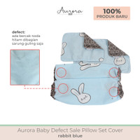 Aurora Baby Pillow Set Cover (Sarung Bantal Set) Defect Sale