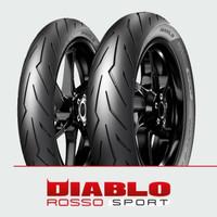 Ban Pirelli Diablo Rosso Sport 80/90 Ring 17 F/R