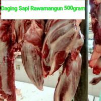 Daging sengkel segar+ daging sapi rawamangun+500gram