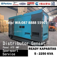 Genset 80 KVA Silent Generator 80 KVA