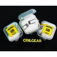 Coil Gear Alien Optimus Single Ni80 1 Pasang 28Gx3+38G coil Wasp nano