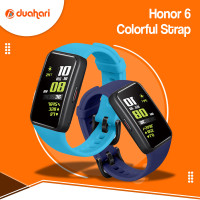 HUAWEI Silicone Strap Honor Band 6 Replacement Tali Bracelet