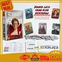 Coup Board Game The Resistance Permainan Kartu Seru ( 2 -6 Pemain )