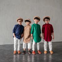 baju koko anak laki laki model kurta usia 1-10 tahun