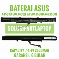 BATERAI ASUS X450J X450JF A450J X550D X550DP A41-X550E