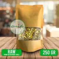 Raw Pistachio Green Nuts (USA) / Kacang Pistachio Mentah Hijau - 250gr