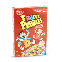 Fruity Pebbles Snack Cereal / Sereal Import USA - 311 gram