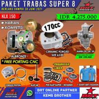 PAKET BRT KLX TRABAS SUPER 8
