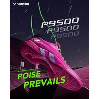 Limited Sepatu Badminton Victor Wanita P9500 P 9500 Pink Original