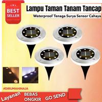 Lampu Tanam Taman Solar Tenaga Surya Outdoor 8 LED Waterproof