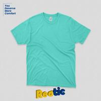Reatic Kaos Polos Oblong Cotton Premium Soft - Emerald Green