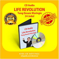 Life Revolution Tung Desem TDW | CD Audio Mp 3 Motivasi