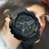 Jam Tangan Pria G-Shock Casio GA-110 Original Full Black Resistnce 30M