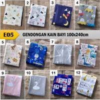 CUKIN / GENDONGAN BAYI / GENDONGAN KAIN TRADISIONAL / GENDONGAN KAIN