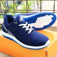 sepatu adidas running biru