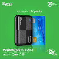 Powerbank Sniper 10000 mAh Powershoot S412151
