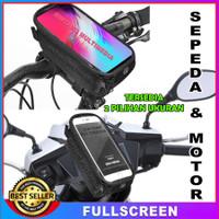Tas Holder HP Sepeda Motor Anti Air Gojek Grab Waterproof Handphone