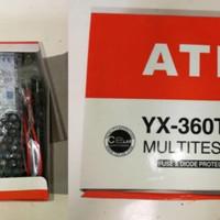 multitester analog yx 360 tr, multitester besar, avometer besar
