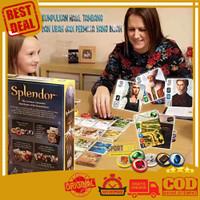 Splendor Board Game Card Mainan Kartu ( 2-4 Pemain ) Games Terlaris!!