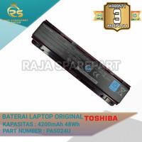 Baterai Batre Original Laptop Toshiba C800 C840 C840D C845 C850 C855