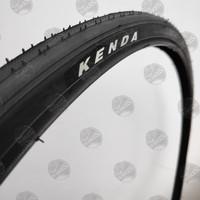 Ban Luar 700 x 23c Sepeda Roadbike RB Fixie. KENDA - KD K-191 BLACK