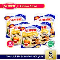 Athien - BUNDLE Otak-Otak Super - Isi 5 pack / 1200 gram