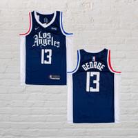 Baju Jersey Basket Swingman NBA Paul George LA Clippers City Edition