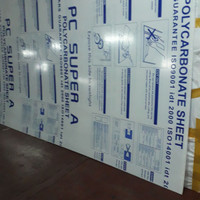 polycarbonate solid clear 3mm 200mm x200mm