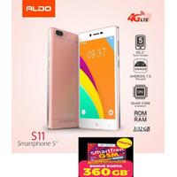 HP SMARTPHONE ALDO S11 Android 4G 3/32 NEW FREE PERDANA SMARTFREEN