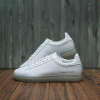 sneakers cowok branded Armani exchange Leather Original