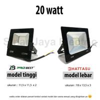 lampu led sorot / tembak / floodlight / outdoor 20w REFLECTOR