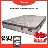 Romance Valencia Plush Top 200x200 Tanpa Divan/Sandaran