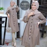 Baju Atasan Muslim Wanita Terbaru Mariya Tunik Termurah